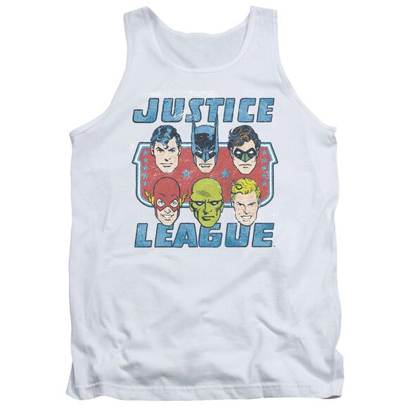 Dc Faces Of Justice Adult Tank