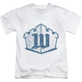 Castle Monogram Short Sleeve Juvenile T-Shirt