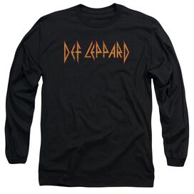 Def Leppard Horizontal Logo Long Sleeve Adult T-Shirt