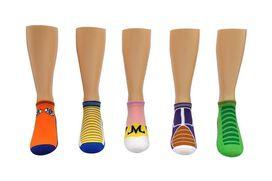 Dragon Ball Z Low-Cut Socks [5-pack]