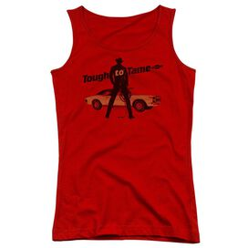 Chevrolet Tough To Tame Juniors Tank Top