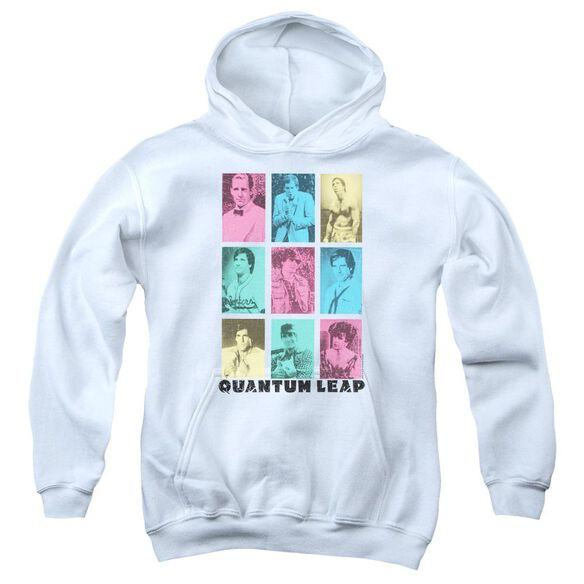 Quantum Leap Faces Of Sam Youth Pull Over Hoodie