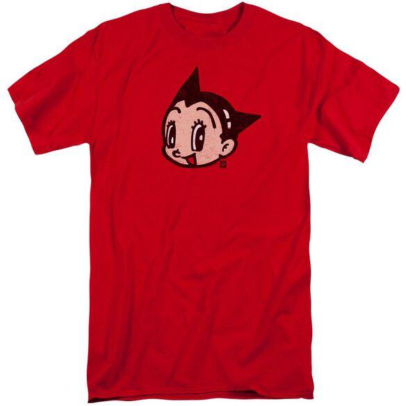 Astro Boy Face Short Sleeve Adult Tall T-Shirt