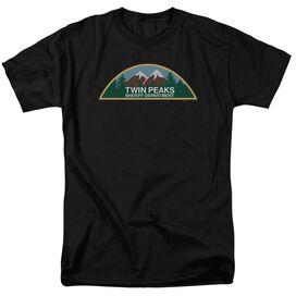 Twin Peaks Sheriff Department Short Sleeve Adult T-Shirt