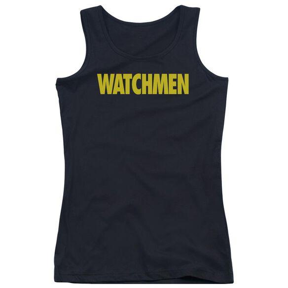 Watchmen Logo Juniors Tank Top