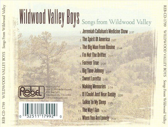 Songs From Wildwood Valle