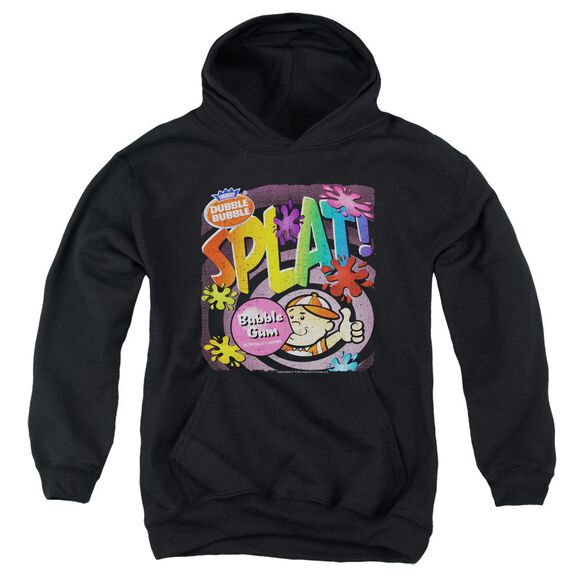 Dubble Bubble Splat Gum Youth Pull Over Hoodie