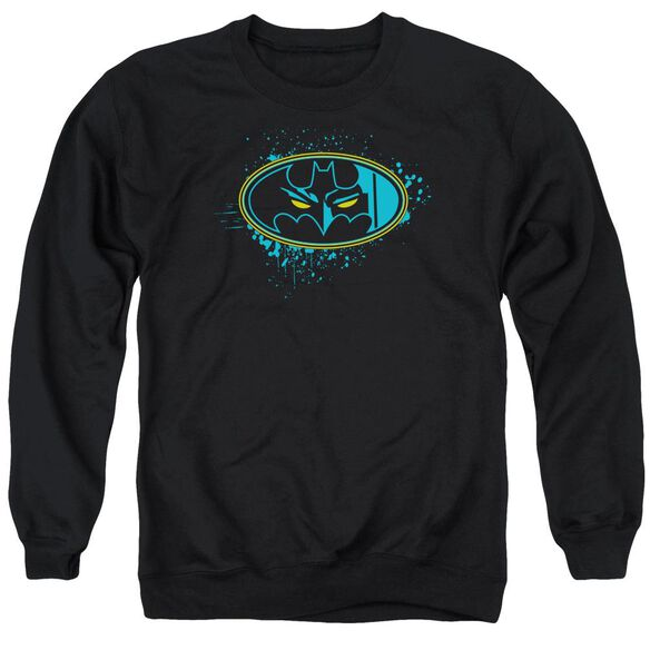 Batman Eyes In The Darkness Adult Crewneck Sweatshirt