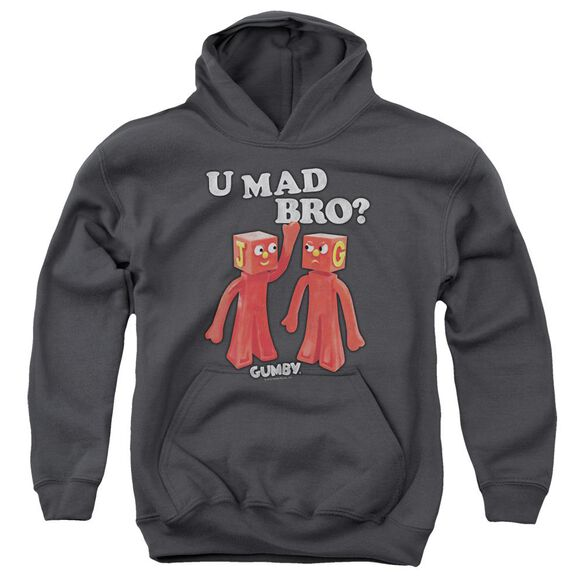 Gumby U Mad Bro Youth Pull Over Hoodie