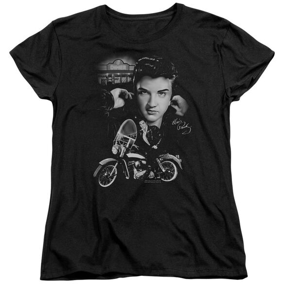 Elvis Presley The King Rides Again Short Sleeve Womens Tee T-Shirt