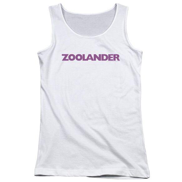 Zoolander Logo Juniors Tank Top