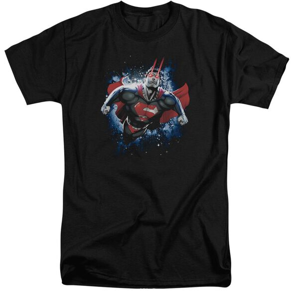 Superman Stardust Short Sleeve Adult Tall T-Shirt