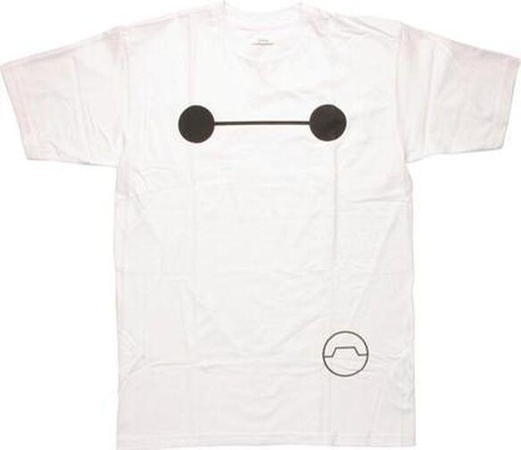 Big Hero 6 Baymax Big Face T-Shirt