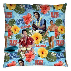 Elvis Blue Hawaii Throw