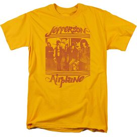 Jefferson Airplane Group Photo Short Sleeve Adult T-Shirt