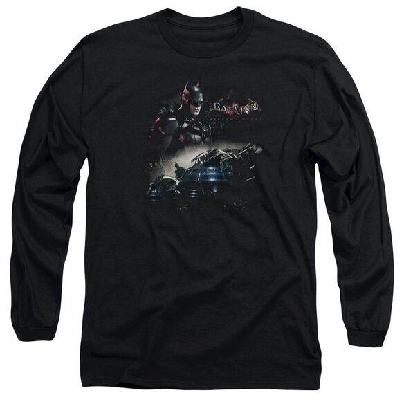 Batman Arkham Knight Knight Rider Long Sleeve Adult T-Shirt