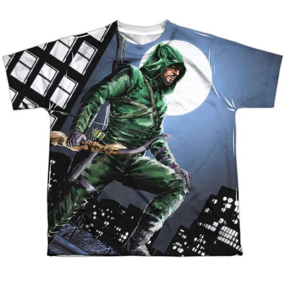 Arrow Night Watch Short Sleeve Youth Poly Crew T-Shirt
