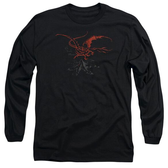 The Hobbit Smaug Long Sleeve Adult T-Shirt