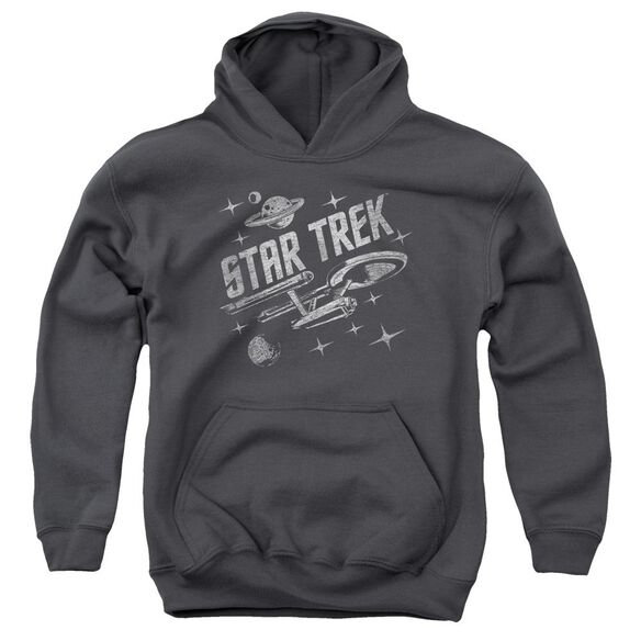 Star Trek Through Space Youth Pull Over Hoodie