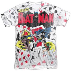 Dc Number 11 All Over Short Sleeve Adult 100% Poly Crew T-Shirt