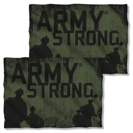 Army Strong (Front Back Print) Pillow Case