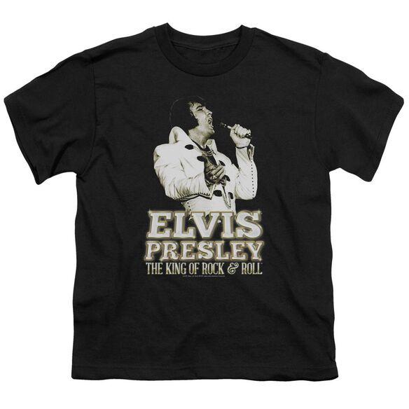 ELVIS PRESLEY GOLDEN - S/S YOUTH 18/1 - BLACK T-Shirt