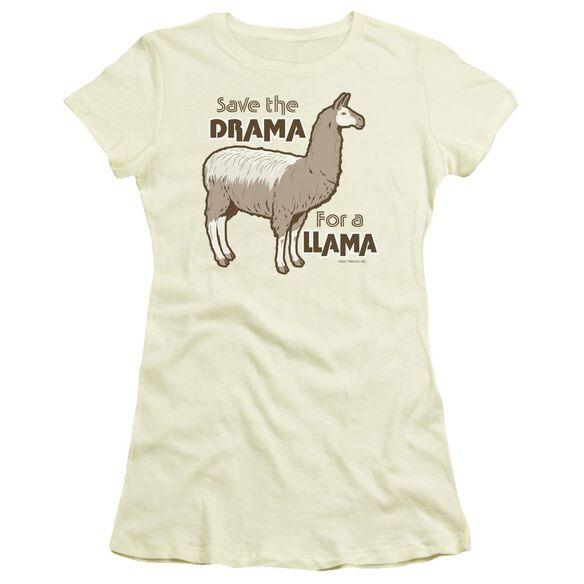 Drama Llama Short Sleeve Junior Sheer T-Shirt