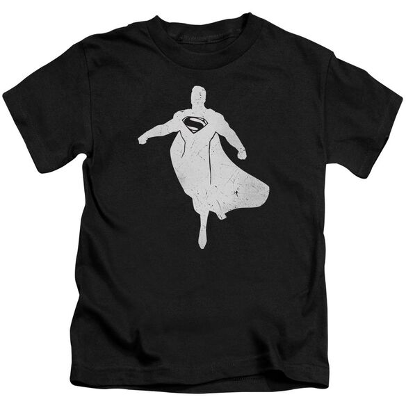 Batman V Superman Superman Silhouette Short Sleeve Juvenile T-Shirt