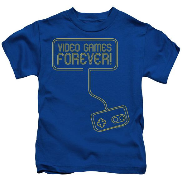 VIDEO GAMES FOREVER - JUVENILE 18/1 - ROYAL BLUE - T-Shirt