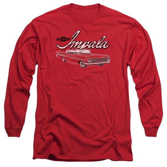 Chevrolet Classic Impala Long Sleeve Adult T-Shirt