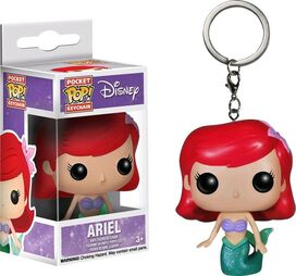 Funko Pocket Pop! Keychain: The Little Mermaid - Ariel