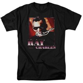 RAY CHARLE ING IT-S/S ADULT 18/1 - BLACK T-Shirt