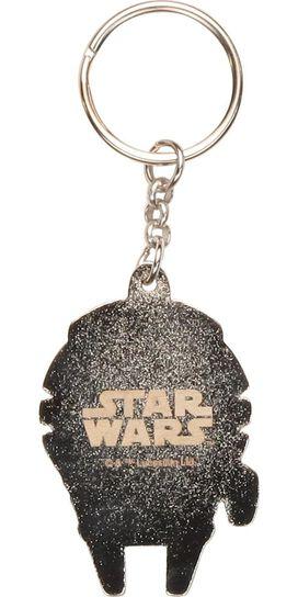 Star Wars Millennium Falcon Metal Keychain