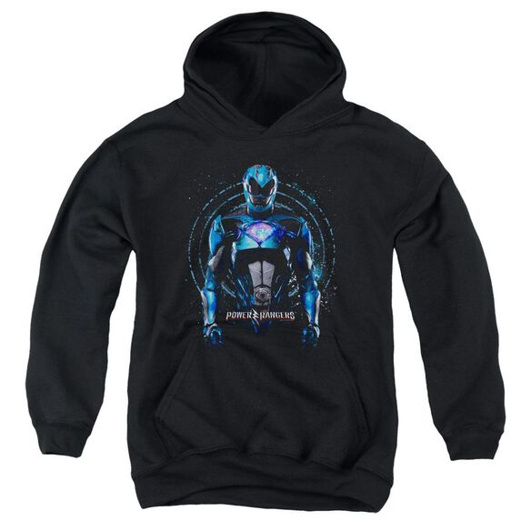 Power Rangers Blue Ranger Youth Pull Over Hoodie