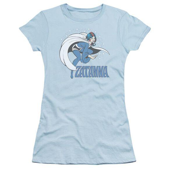 Dc Zatanna Short Sleeve Junior Sheer Light T-Shirt
