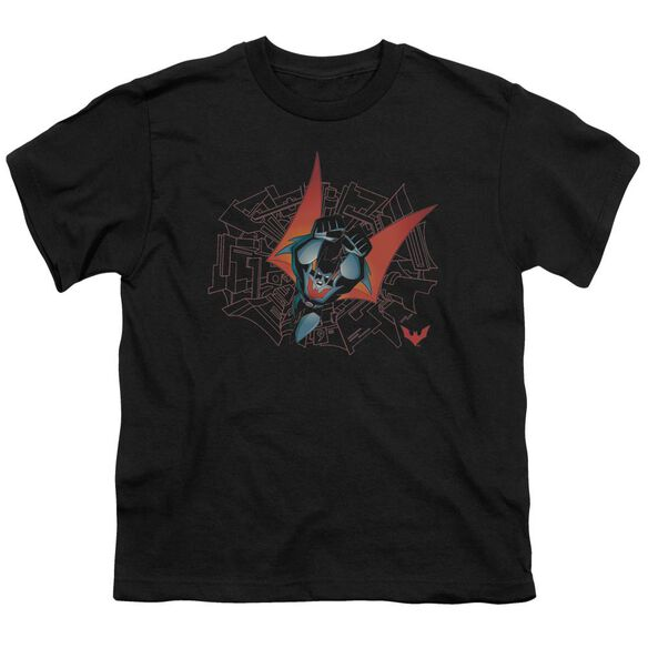 Batman Beyond Swooping Down Short Sleeve Youth T-Shirt