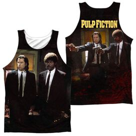 Pulp Fiction Vincent And Jules (Front Back Print) Adult Poly Tank Top