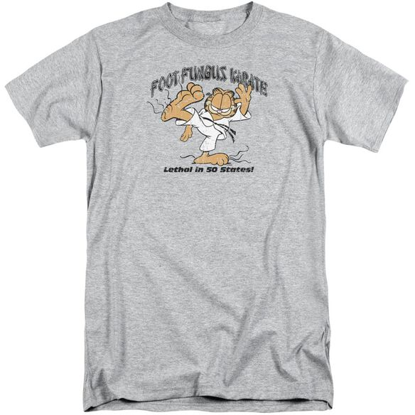Garfield Foot Fungus Karate Short Sleeve Adult Tall Athletic T-Shirt