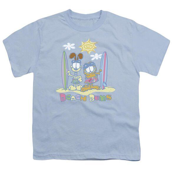 Garfield Beach Bums Short Sleeve Youth Light T-Shirt