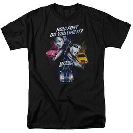 2 FAST 2 FURIOUS FAST WOMEN - S/S ADULT 18/1 - BLACK - 2X - BLACK T-Shirt