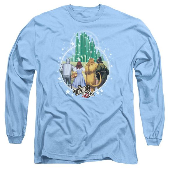 Wizard Of Oz Emerald City Long Sleeve Adult Carolina T-Shirt