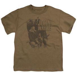 John Wayne In The West Short Sleeve Youth T-Shirt