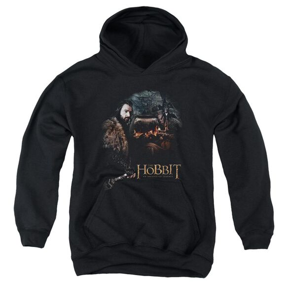 The Hobbit Cauldron Youth Pull Over Hoodie