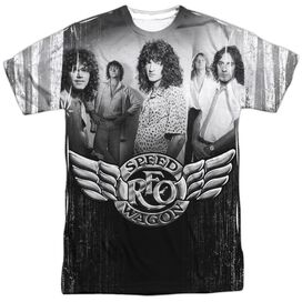 Reo Speedwagon Want A Ride Short Sleeve Adult Poly Crew T-Shirt