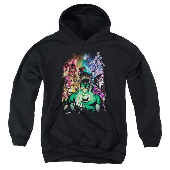 Green Lantern The New Guardians Youth Pull Over Hoodie