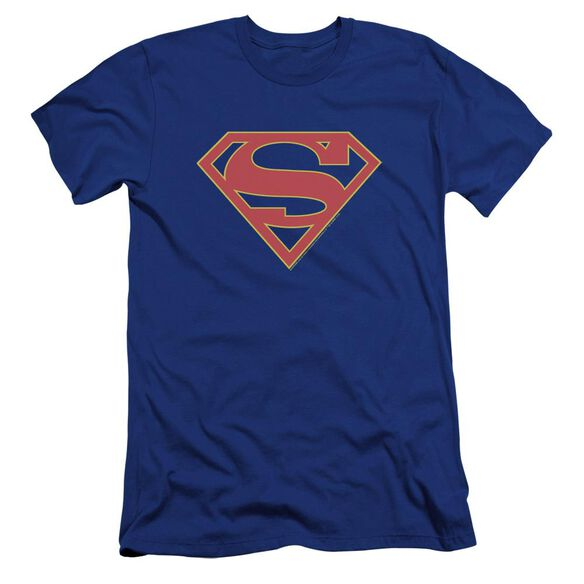 Supergirl Logo Premuim Canvas Adult Slim Fit Royal