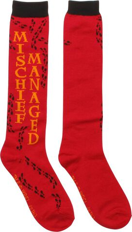 Harry Potter Mischief Ladies Knee High Socks