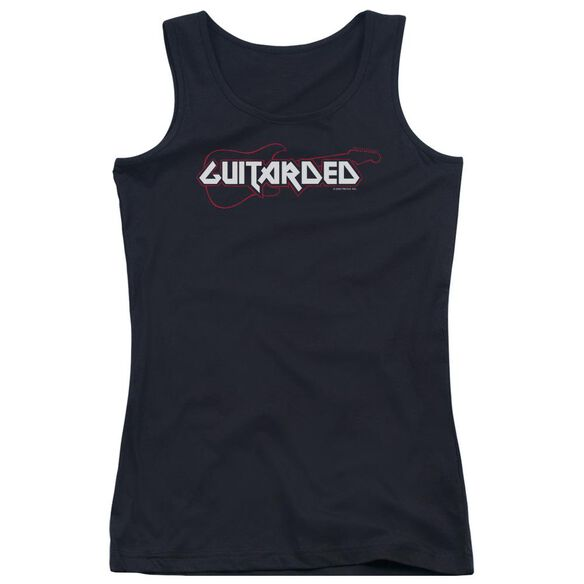 Guitarded Juniors Tank Top