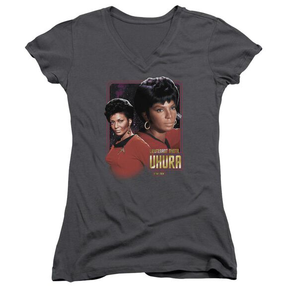 Star Trek Lieutenant Uhura Junior V Neck T-Shirt