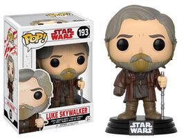 Funko Pop! Star Wars: EP8 - Luke Skywalker